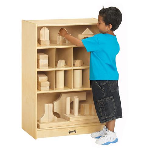Jonti Craft Mobile Block Shelf