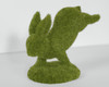 Moss Bunny Standing on Front Feet