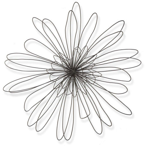 Boho Wire Zinnia | 30 Inches