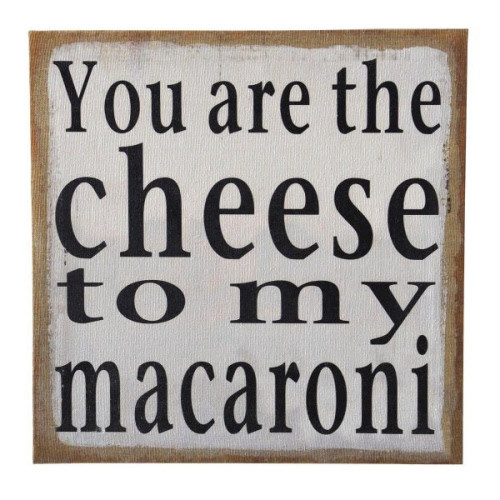 Baby, You are the Cheese to My Macaroni!