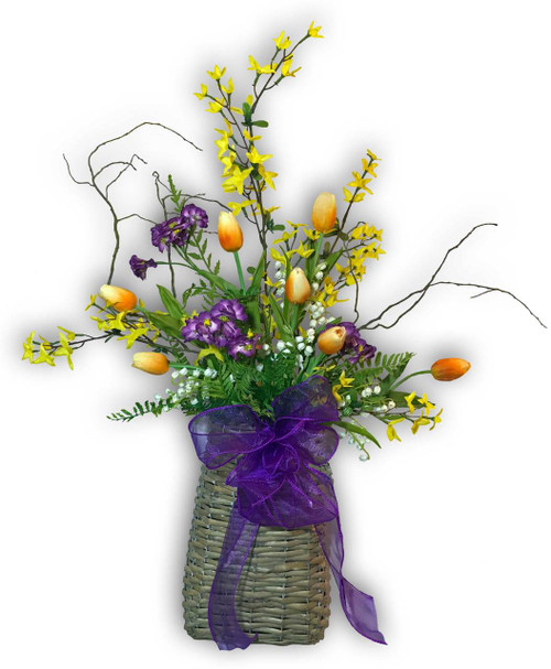 Spring Basket from Adorn Wreaths