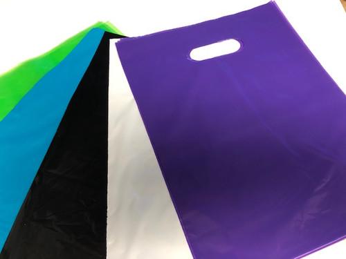 Die-Cut Handle Tinted Bags