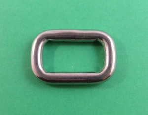 "5mm x 40mm Marine Stainless Steel 316 Triangle Ring Welded 3//16/"" x 1 5//8/"""
