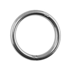 "Marine 5mm x 40mm Stainless Steel 316 Triangle Ring Welded 3//16/"" x 1 5//8/"""
