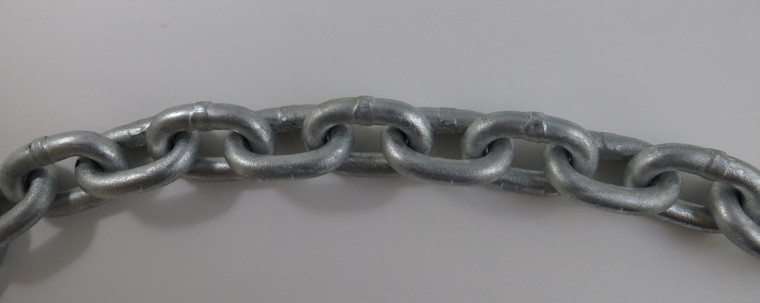 "US Galvanized Windlass 1/4"" ISO G4 Anchor Chain HDG (Sold per Foot)"