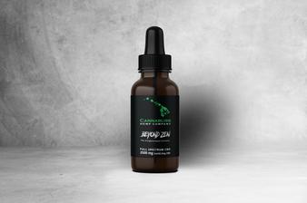 Beyond Zen Full Spectrum CBD Oil | 2500mg