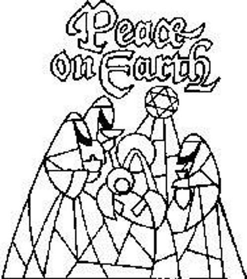 Peace Small - Cling Mount