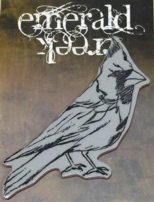 Emerald Creek Cardinal Stamp - Cling Mount