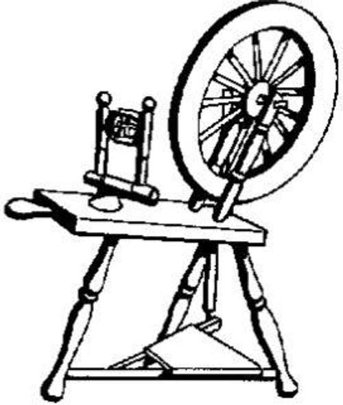 Spinning Wheel - Cling Mount