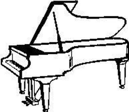 Piano - Cling Mount