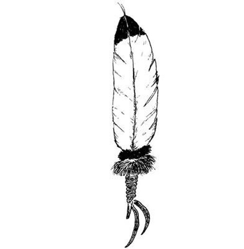 Feather - Cling Mount