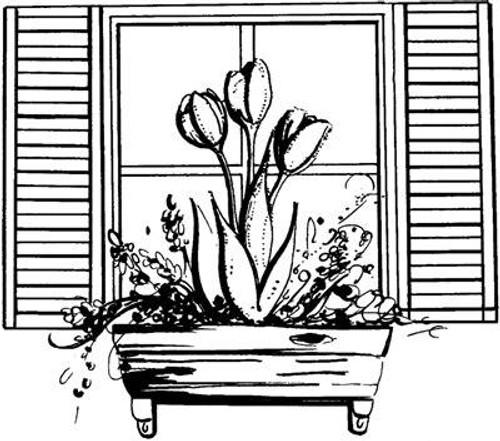 Window Box - Cling Mount