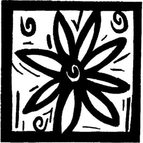 Flower Square - Cling Mount