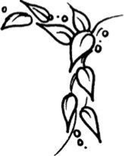 Leafed Corner - Cling Mount