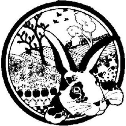 Emerald Creek Alice Rabbit - Cling Mount