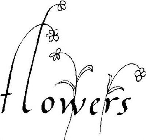 Flowers - Cling Mount