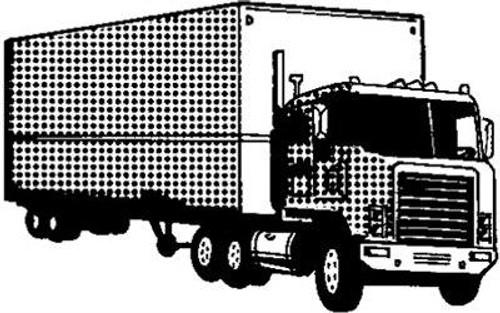 Emerald Creek Truck - Cling Mount