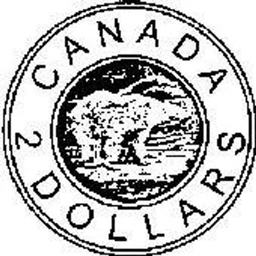 Emerald Creek Canadian Toonie - Cling Mount
