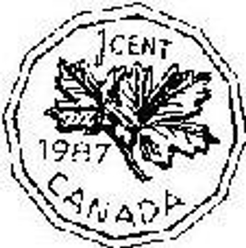 Emerald Creek Canadian Penny - Cling Mount