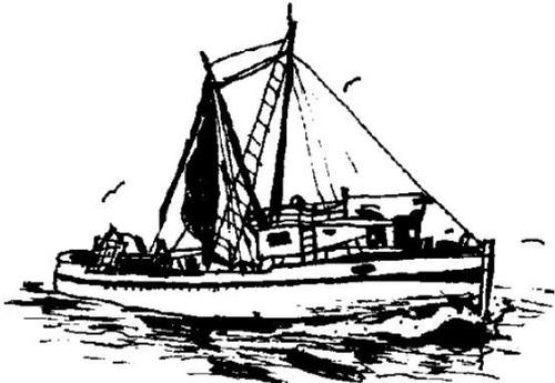 Emerald Creek Fishing Boat - Cling Mount
