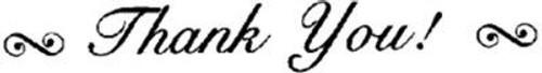 Emerald Creek Script Thank You