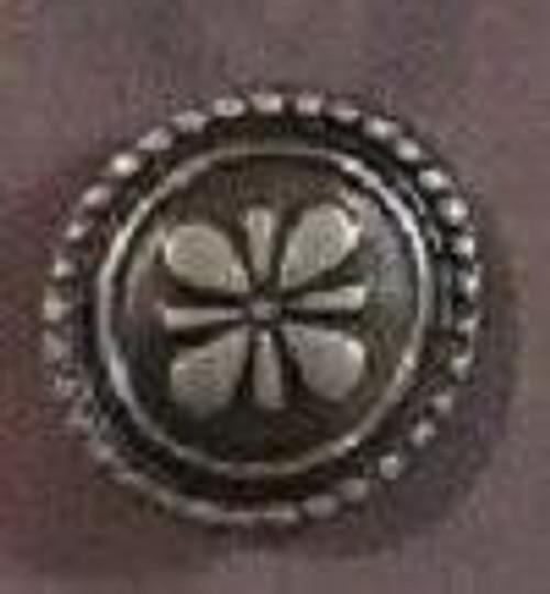 Flower Crest Brads 12/pkg