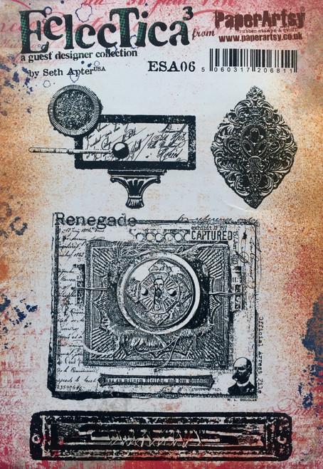 PaperArtsy - Seth Apter Eclectica3 Stamp Set - 06