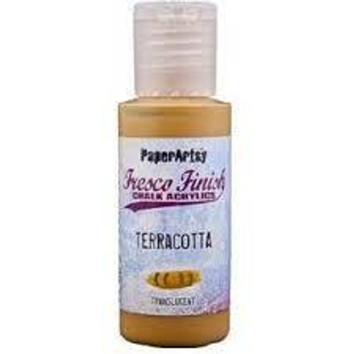 Fresco Finish Acrylic Paint - TerraCotta