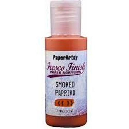 Fresco Finish Acrylic Paint - Smoked Paprika