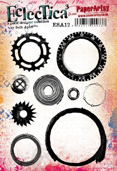 PaperArtsy - Seth Apter Eclectica3 - Stamp Set 12