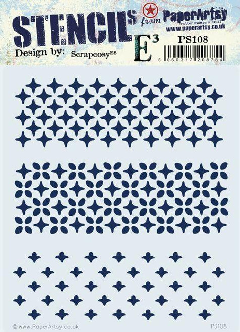 PaperArtsy - Stencil 108 - Scrapcosy