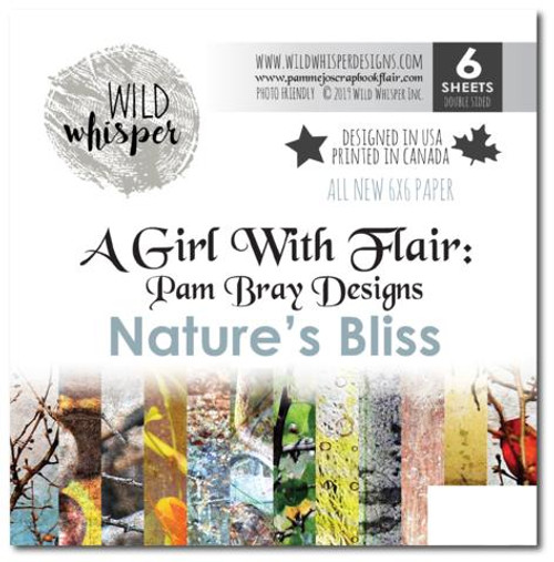 Pam Bray - Natures Bliss 6x6 Paper Pack