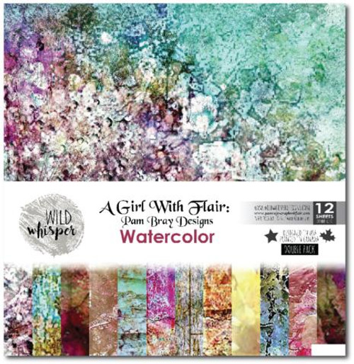 Pam Bray - Watercolor 6x6 Double Paper Pack