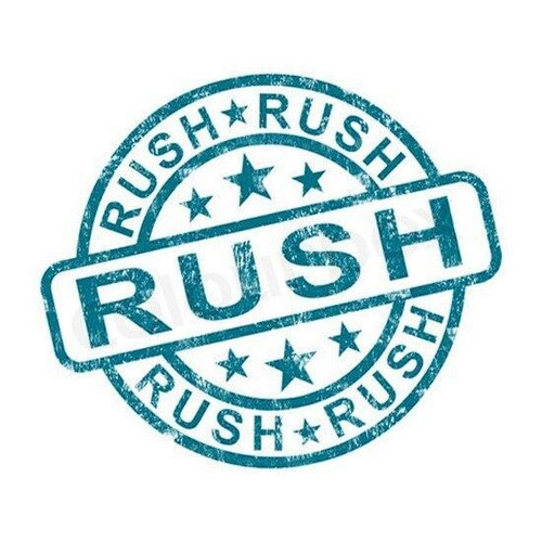 Rush Order Processing Fee