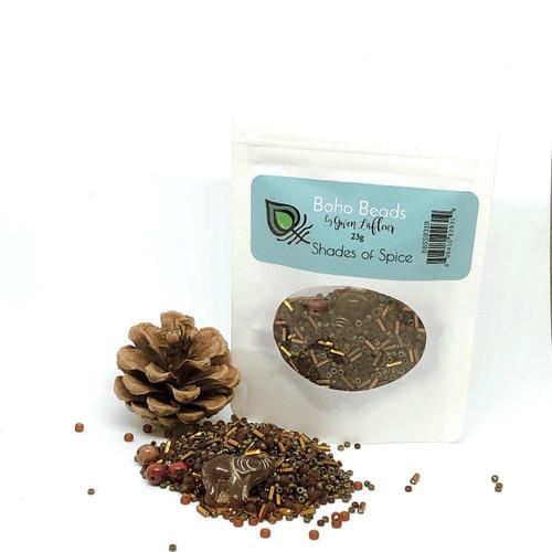 gwen lafleur Boho Beads - Shades of Spice