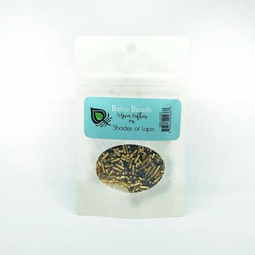 gwen lafleur Boho Beads - Shades of Lapis