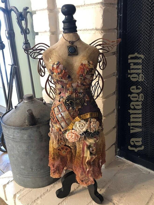 Angel Dress form by Candy Rosenberg - Submit bid by email
