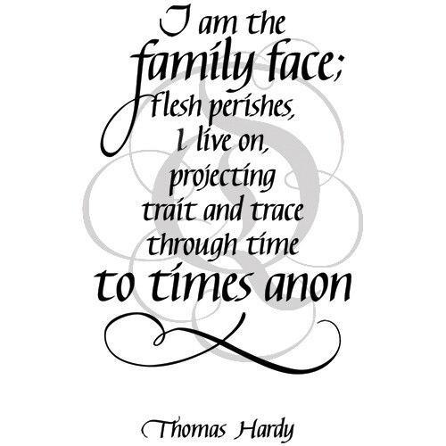 Quietfire I am the Family Face
