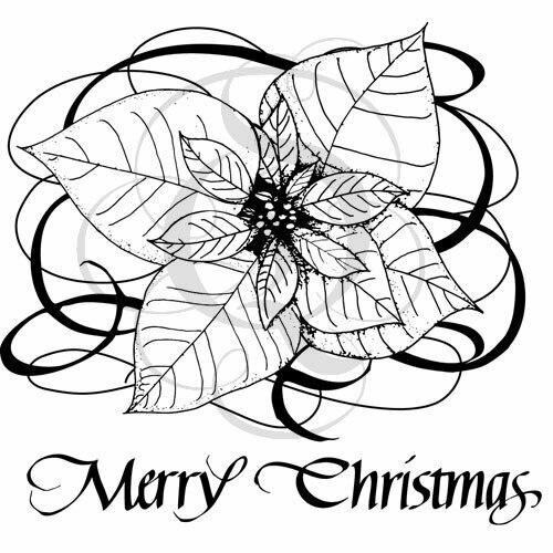 Quietfire Merry Christmas Poinsettia