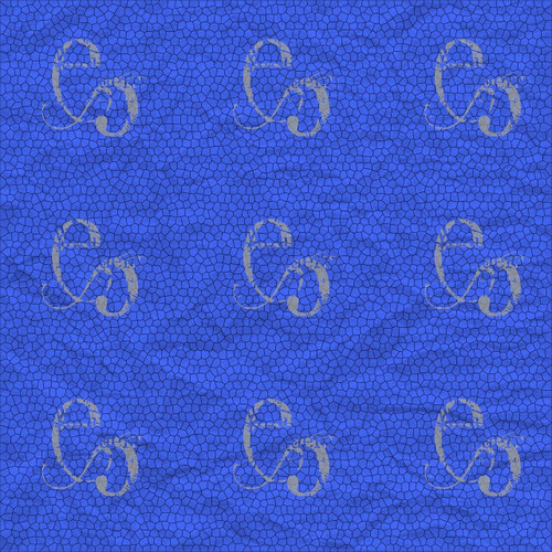 Pam Bray Designs Blue Crinkle Abstract Paper - Pam Bray 2020