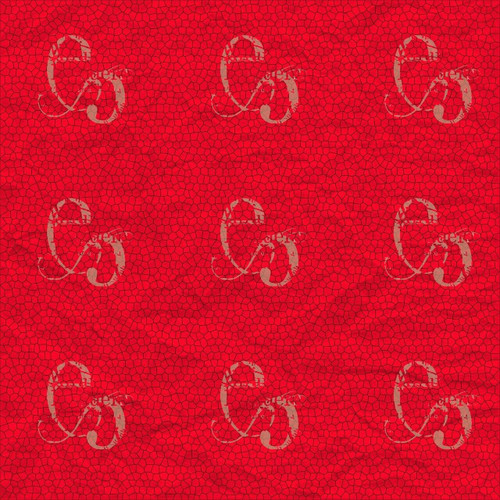 Pam Bray Designs Red Crinkle Abstract Paper - Pam Bray 2020