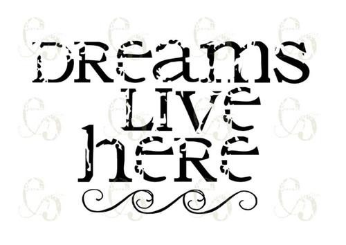 Pam Bray Designs Dreams Live Here - Pam Bray 2020