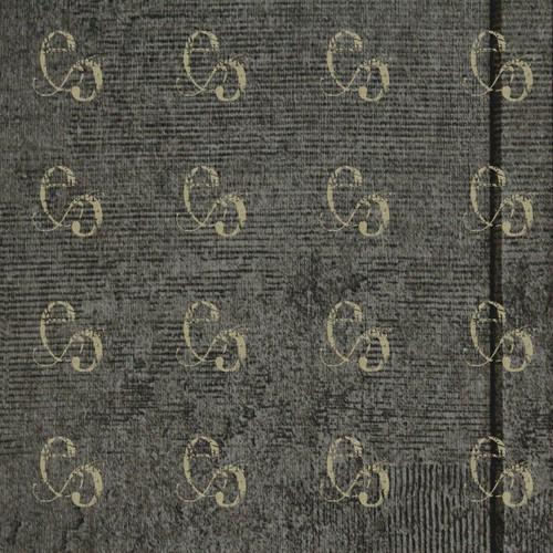 Pam Bray Designs Dark Grey Basket Weave Paper - Pam Bray 2020