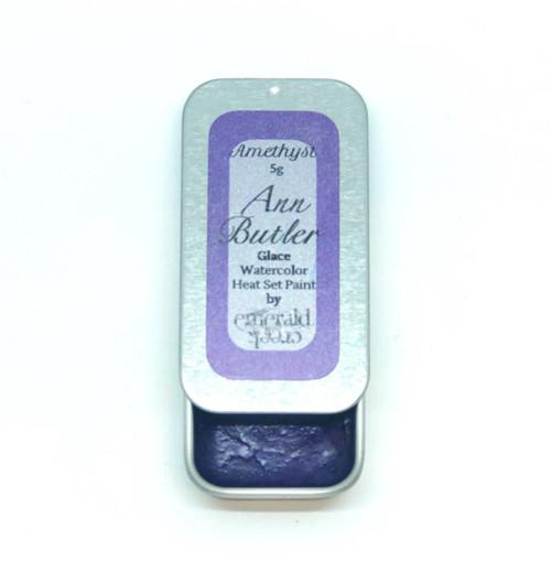 Ann Butler Designs Glace Amethyst - Heatset Watercolours by Ann Butler