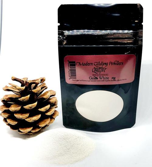 Quietfire Modern Gilding Powders - Gesso White