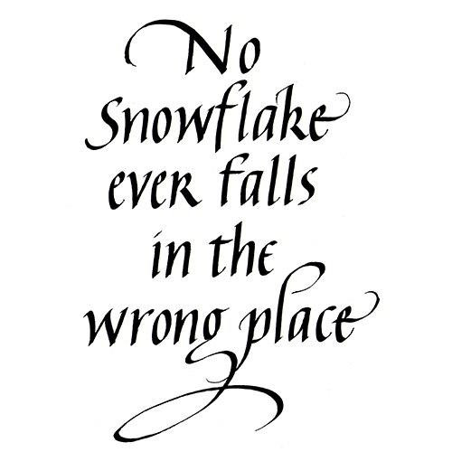 Quietfire No Snowflake Ever Falls