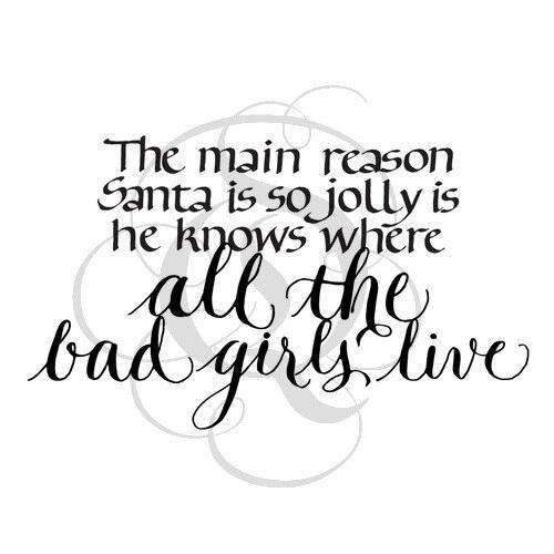 Quietfire The Main Reason Santa is so Jolly