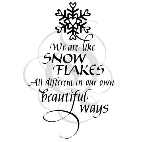 Quietfire We are Like Snowflakes