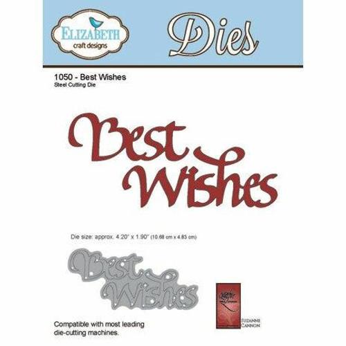 Quietfire Best Wishes - Thinlit Die