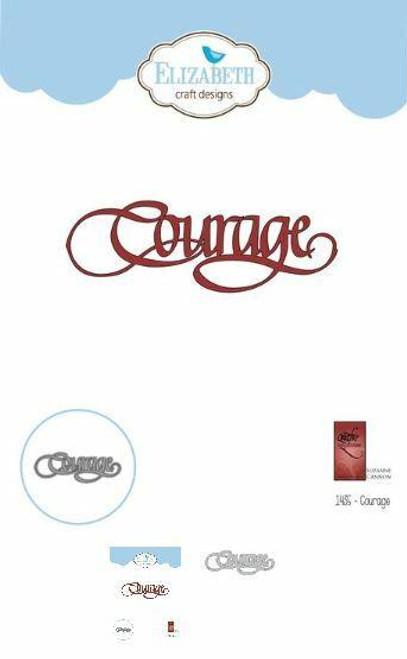Quietfire Courage - Thinlit Die